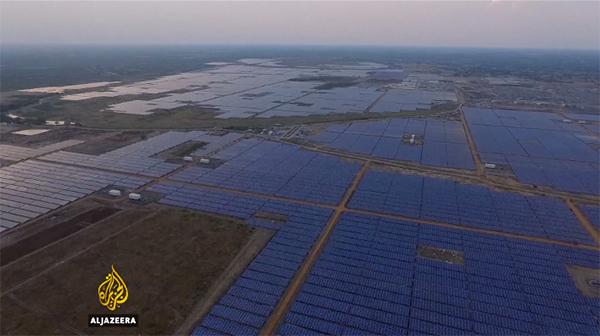 Captura planta solar india