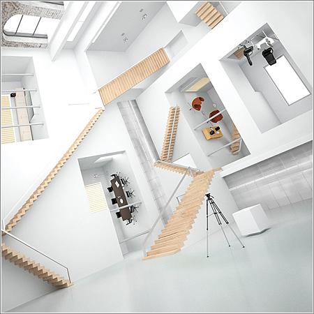 Casa-3D-Mc-Escher