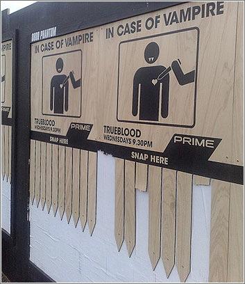 En caso de vampiros...