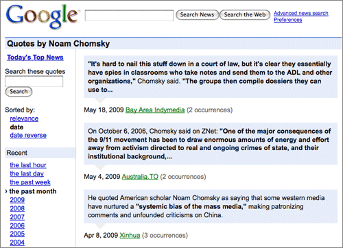 Chomsky-Quotes