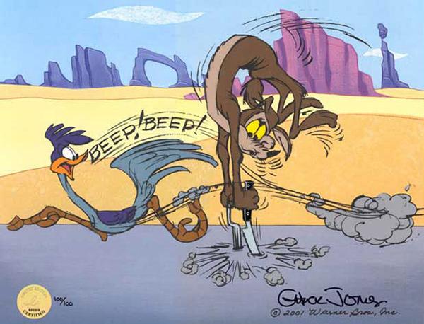 Chuck jones roadrunner coyote