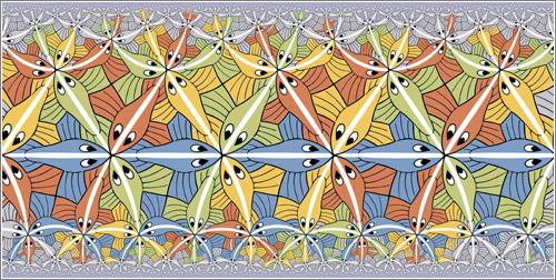 Geometría hiperbólica / M.C. Escher
