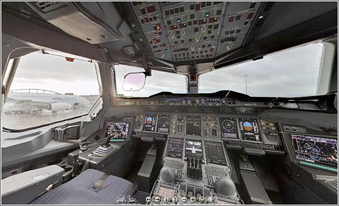 Cockpit 380 Panorama