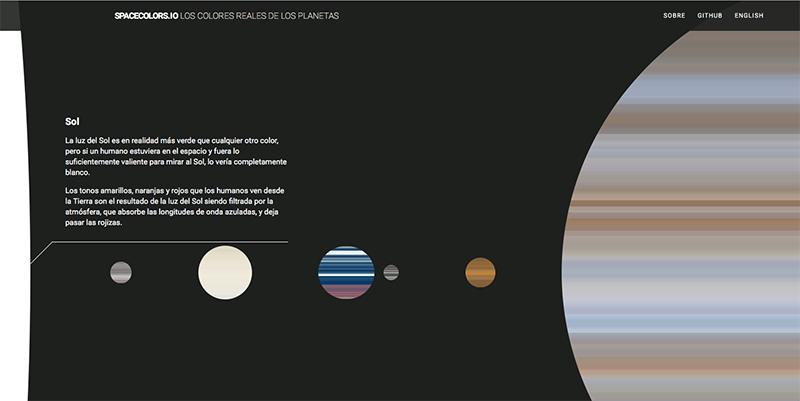 Colores reales planetas spacecolors io