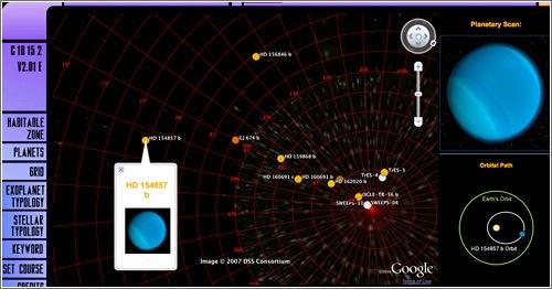Visualizador exoplanetas