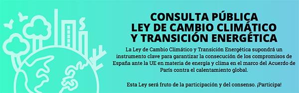 Consulta publica ant ley cambio climatico