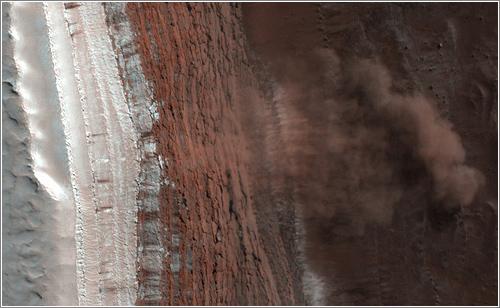 Martian Landslide / NASA