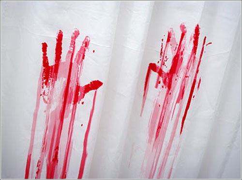 Cortina de ducha a los Psycho