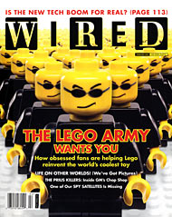 Wired, The LEGO Army
