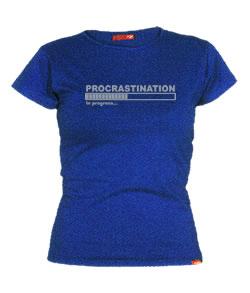 Procrastinación de Crash Camisetas