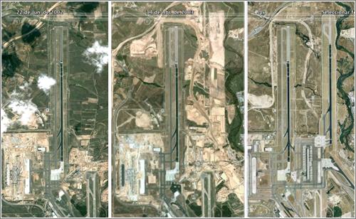 Crecimiento Aeropuerto de Barajas (2202 - 2009)