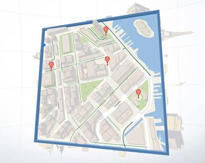 Cube Google Maps