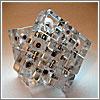 Cubo Rubik Transparente