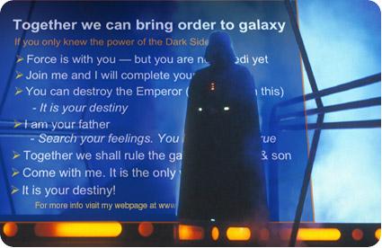 Darth Vader Powerpoint