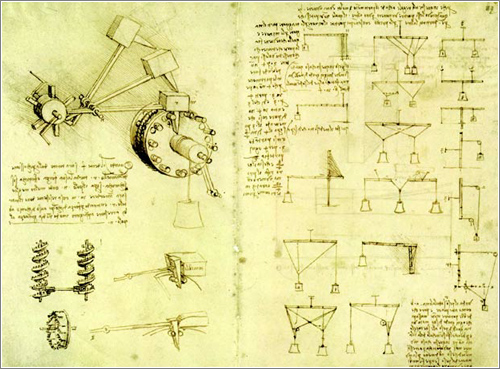 Nuevos facsímiles de dos códices de Leonardo Da Vinci
