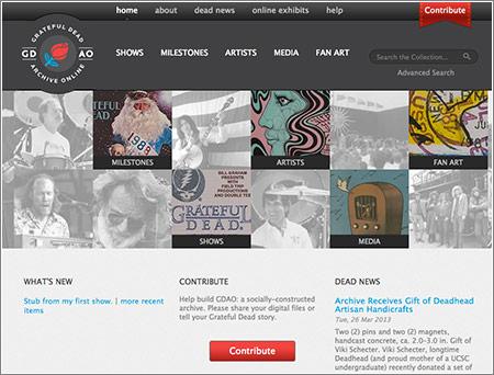 Archivo Online de los Grateful Dead