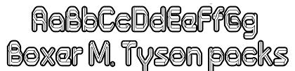 Denedo, una tipografía de Andinistas