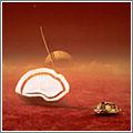 Descenso en Titán de la sonda Huygens