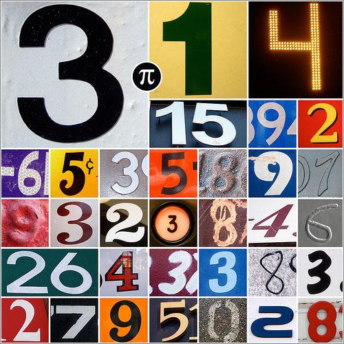 Dia Pi con 36 dígitos (CC) Mykl Roventine