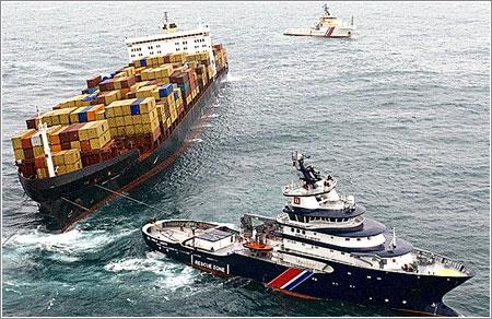 Rescatando el MSC Napoli