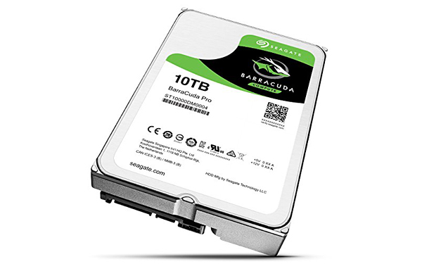 Disco duro seagate barracuda 10TB