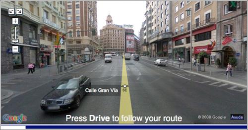 Drive Street View