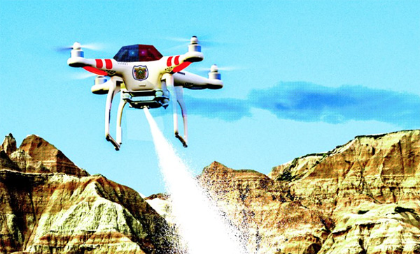 Drone Armado. The Daily Beast