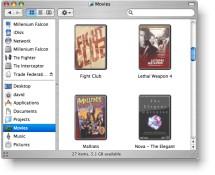 Drive-in para Mac OS X
