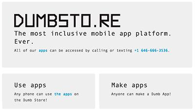 Apps para teléfonos móviles (poco) inteligentes