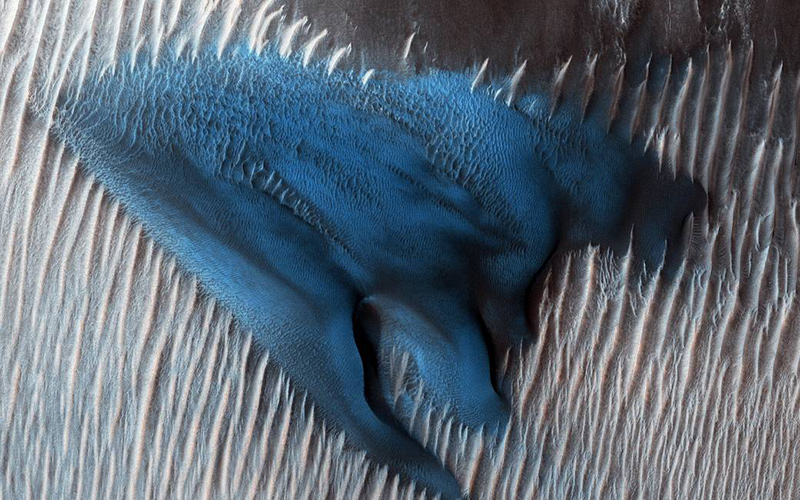 Duna azul marte