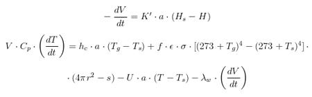 El modelo matemático del botijo