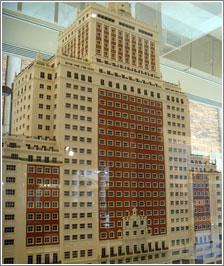 Edificio España (maqueta)