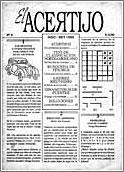 La revista El Acertijo, en la web