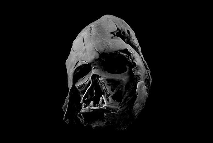 El casco de darth vader
