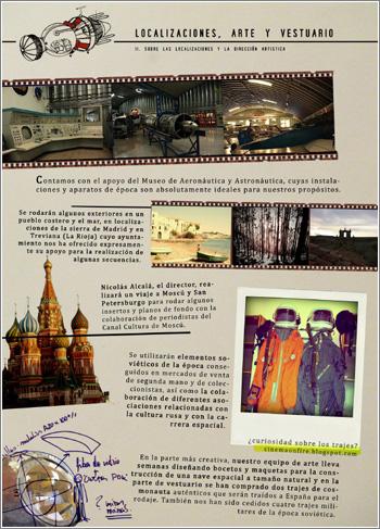 El cosmonauta: proyecto