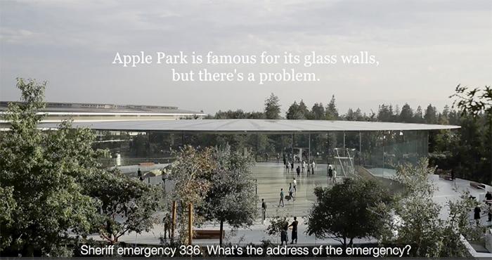 Empleados vs apple park