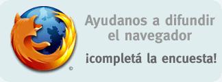 Encuesta Firefox