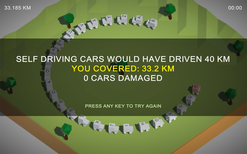 Este juego cuestiona tu capacidad para conducir junto a coches autónomos