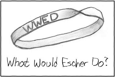 Escher Wristband, la Pulsera de Goma de Escher