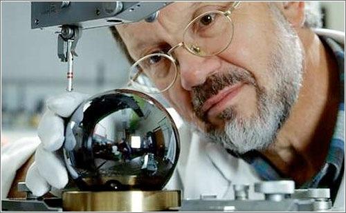 Esfera de silicio para definir el kilogramo