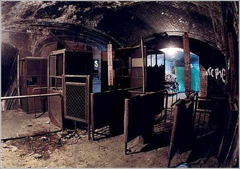 Estacion Fantasma en Chamberí