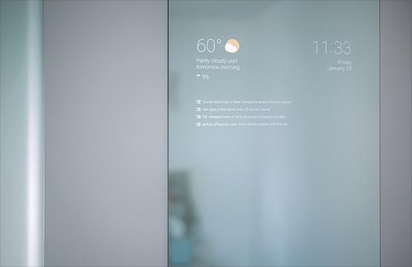 Mi Extractor De Baño No Funciona:Este espejo para el cuarto de baño funciona con Android y mola