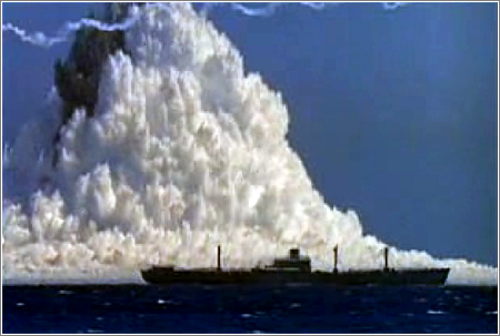 Explosion Submarina