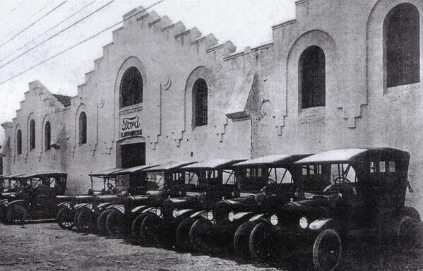 Fabrica Ford Cádiz 1919