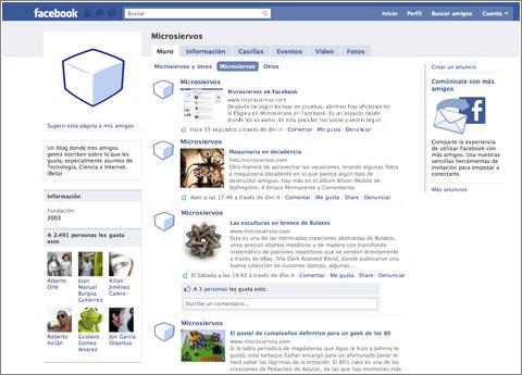Microsiervos en Facebook -- facebook.com/microsiervos