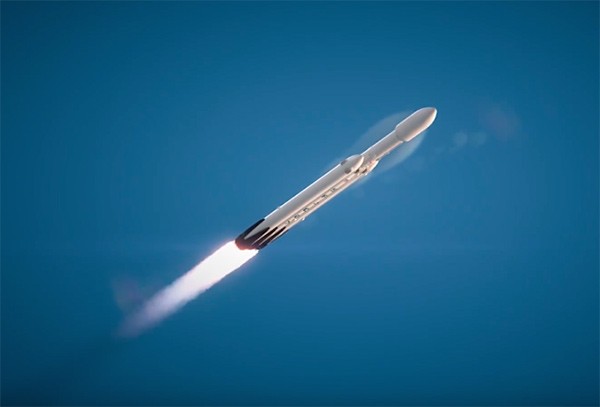 Falcon heavy space x