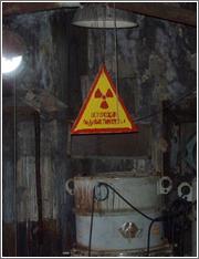 Faros radiactivo abandonado en Rusia