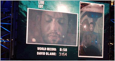 David Blaine Drowned Alive, final, foto de Sharad Ganesh