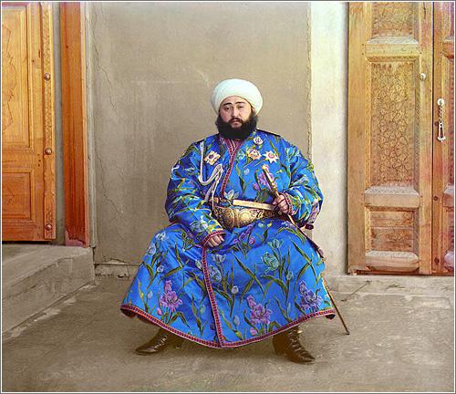 Fotografía en color circa 1900