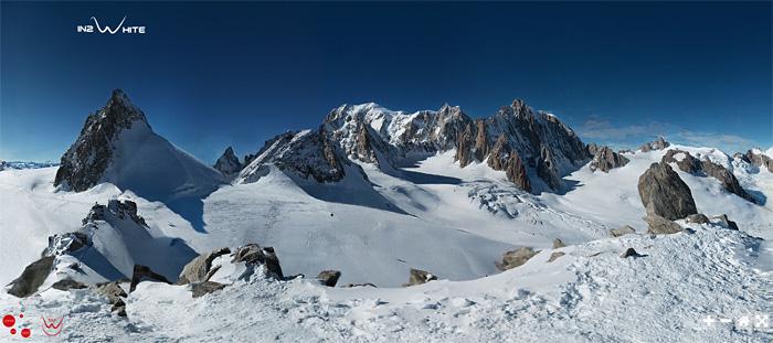 Fotografia Mont-Blanc 365 gigapixeles
